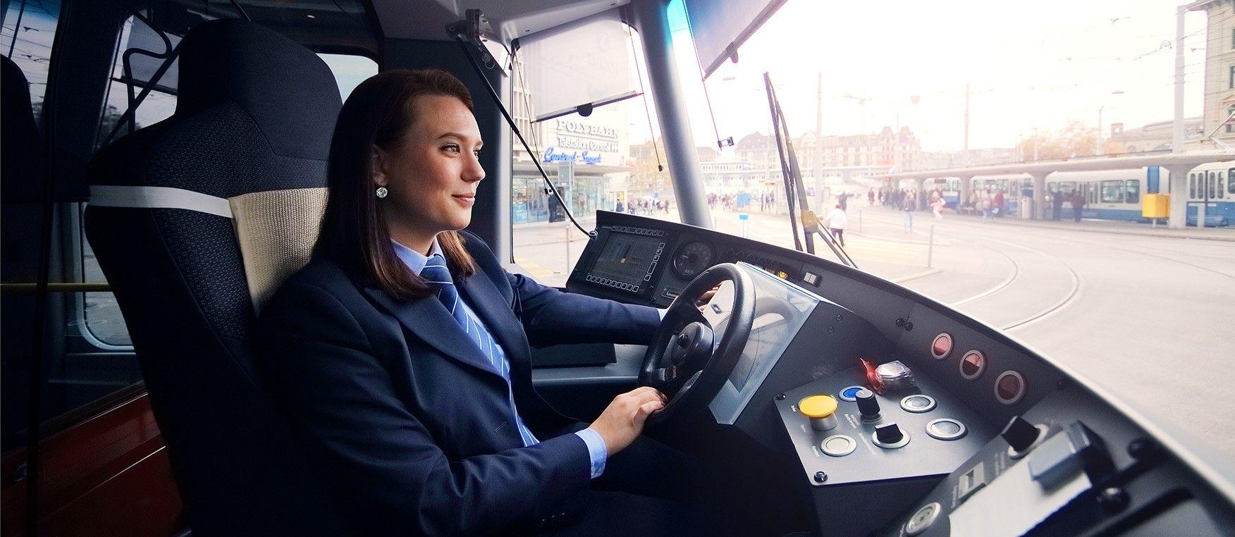 Ihr EInstieg in Bus und Tram