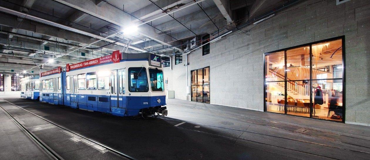 Ausbildung im Bereich Tram