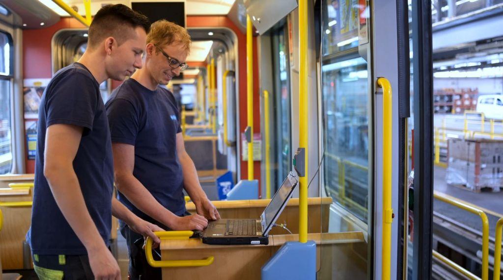 Instandhaltung Tram